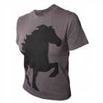 T-Shirt Crew Neck with Tölting Horse