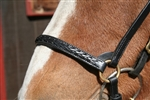 Plaited Drop Noseband