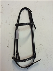 Bridle with Crackeled Rock