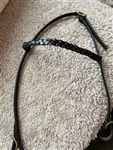 Icelandic Classic Braided Leather Headstall