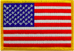 United States of America Flag Patch