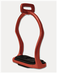 Icelandic safety stirrups red Waldhausen