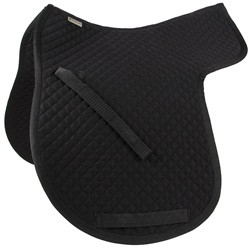 Contoured Cotton Saddle Pad