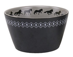 Five Gaited Bowl with Icelandic Horses